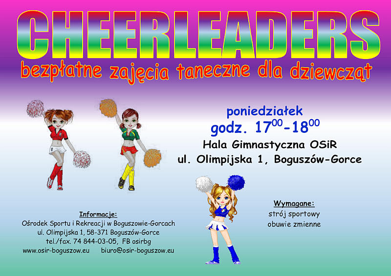 Cheerleaders 2017 plakat
